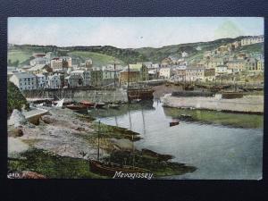 Cornwall MEVAGISSEY Village & Harbour - Old Postcard by Hartmann