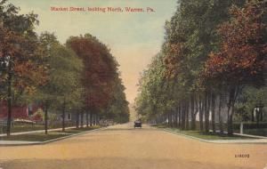 Residence scene,  Market Street,  looking North,  Warren,   Pennsylvania,  00...