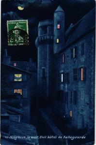 CPA PÉRIGUEUX la nuit-Vieil hotel de Sallegourde (233590)