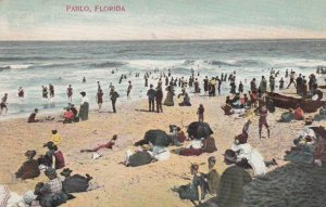 PABLO, Florida, 1901-07; People at the Beach