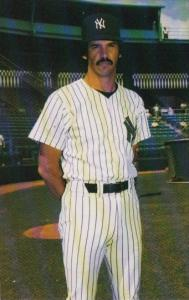 Baseball Ron Guidry Pitcher 1985 New York Yankees