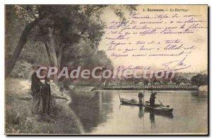 Old Postcard Suresnes Dam