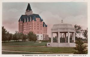 RP, SASKATOON , Saskatchewan, Canada, 1920-40s ; Hotel