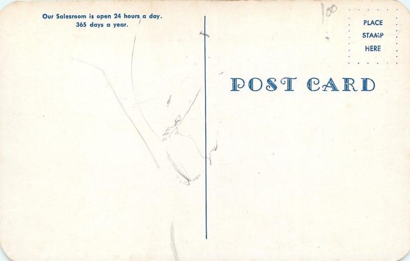 Freeport Maine~L L Bean Inc Factory~Salesroom~1950s Artist Drawn Postcard