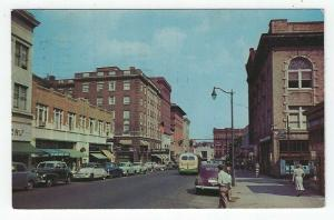 New Britain, Connecticut, View of West Main Street, 1957