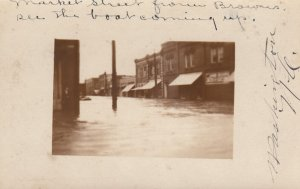 RP: WASHINGTON , North Carolina , 00-10s ; Market Street Flooded #2