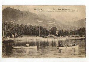 401610 FRANCE SAVOIE Lac d'Annecy Vintage RPPC