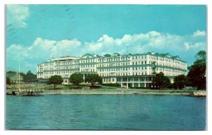 1950s/60s Griswold Hotel and Country Club, Groton, CT Postcard