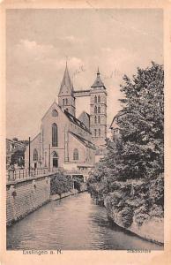 Esslingen Germany Stadtkirche Esslingen Stadtkirche