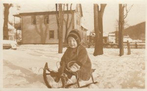 RP: Child on a sled , 00-10s