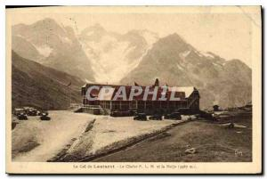 Old Postcard The Lautaret PLM Chalet and Meije