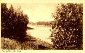 Canada - Nova Scotia, Amherst. Pugwash River