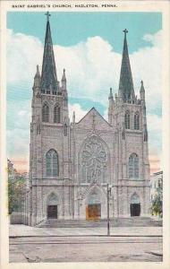 Pennsylvania Hazleton Saint Gabriel's Church 1929