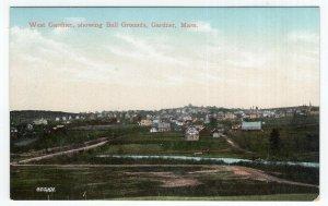 Gardner, Mass, West Gardner, showing Ball Grounds