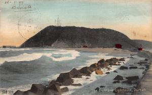 South Africa Durban The Bluff and lighthouse postcard