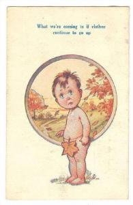 Boy with one leaf as clothes , 10-20s D TEMPEST