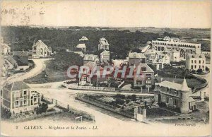 Old Postcard Cayeux Brighton and Foret