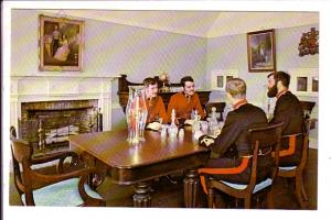 Military Officers Enjoying Liqueur, Old Fort Henry Interior, Kingston, Ontario