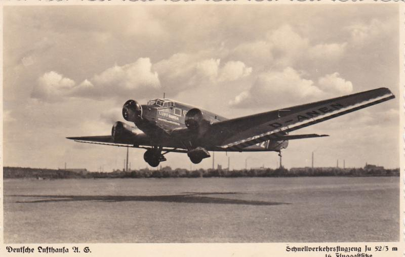 RP: Deutsche LUFTHANSA Tri-Motor Airplane, Take-off , 20-30s