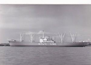 RP ; Cargo ship m.s. NONIISAU MARU (Japan) , 30-40s MITSUI LINE