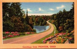 Ohio Greetings From Pioneer 1956