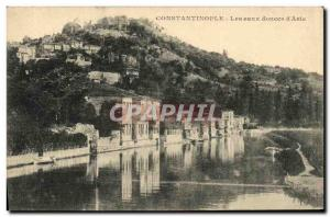 Old Postcard Constantinople The Sweet Waters of Asia