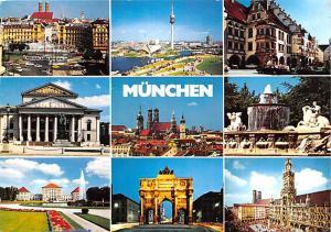 Munchen Germany Stachus mit Karlstor Munchen Stachus mit Karlstor