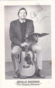 Gerald Goodwin The Singing Salesman of GARNER, North Carolina, 40-50s