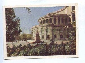 200689 ARMENIA EREVAN opera & ballet theater old postcard
