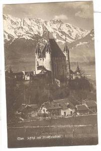 RP; Schlop mit Stockhornkette, Thun, Berne, Switerland, PU-1919
