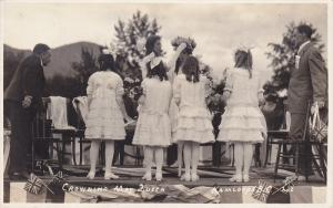 RP: May Day , Crowning May Queen, KAMLOOPS , B.C. , Canada , 1923 #1