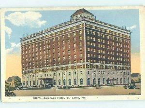 W-border HOTEL SCENE St. Louis Missouri MO AE1931