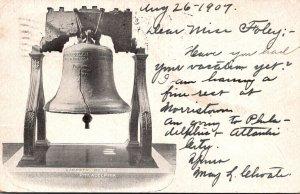 Pennsylvania Philadelphia The Liberty Bell 1907
