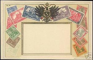 Germany Prussia, STAMP Postcard (1910s) Deutsches Reich