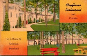 Maryland Aberdeen Mayflower Restaurant and Cottages