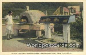Gaspe, PQ Canada, du Canada Un four d'habitant, Roadside Bread Oven, Grand Va...