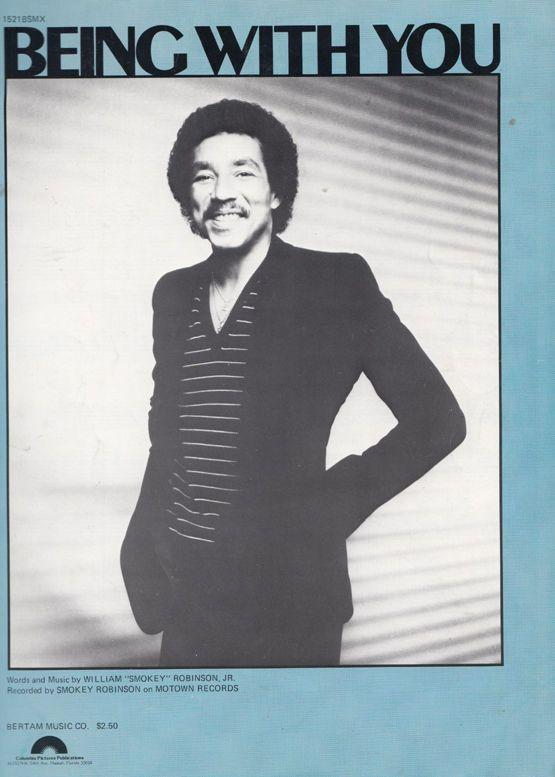 Smokey Robinson Being With You 45 XL Sheet Music
