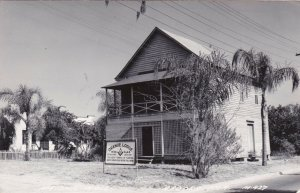 Florida Apopka Orange Lodge No 36 Oldest Lodge In Florida 1951 Real Photo sk311