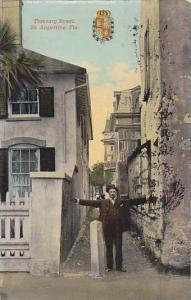 Treasury Street, St. Augustine, Florida, PU-1911
