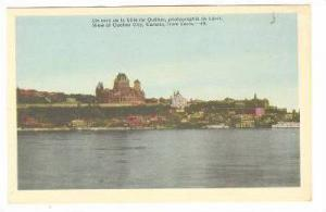 View Of Quebec City, From Levis, Quebec, Canada, 1910-1920s