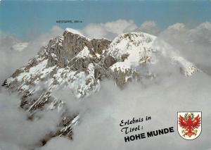 Erlebnis in Tirol Hohe Munde Westgipfel Berg