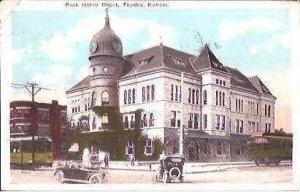KS Topeka Rock Island Depot 1926
