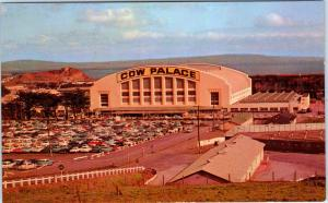 DALY CITY, CA California    COW PALACE  Built in 1941  c1950s    Postcard