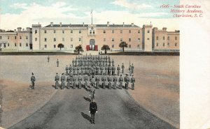 LP74   Charleston South Carolina  Military Academy Postcard