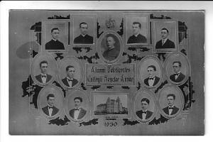Real Photo Collegii Sanctae Annae, Church Point, Nova Scotia, 1930 Professor,...