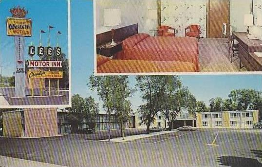 South Dakota Chamberlain Lees Motor Inn