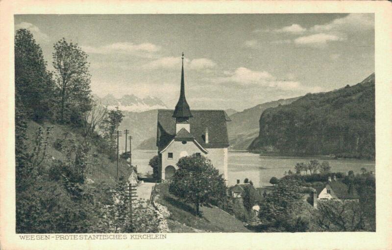Switzerland Weesen Protestantischen Kirchen 02.99