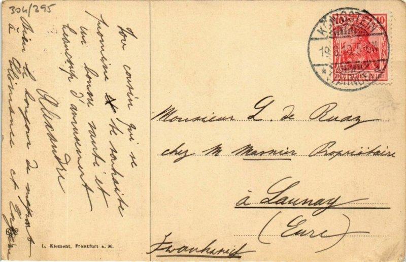 CPA AK Konigstein- GERMANY (949225)