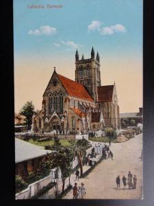 Bermuda: BERMUDA CATHEDRAL Old Postcard Pub by Wm Weiss