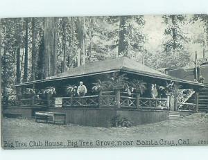 Divided-Back BIG TREE CLUBHOUSE Santa Cruz - Near San Jose CA H5603-13